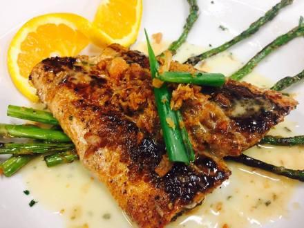 grilled lemonfish